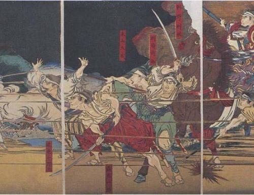 The Battle of Shiroyama
