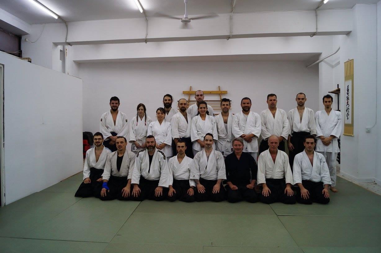 Σεμινάριο Aikido με τον Eric Louw sensei 6th Dan Aikikai